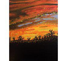 Sunset Painting Photographic Print