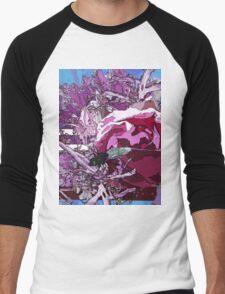 Scarlet rose being bugged Men's Baseball ¾ T-Shirt