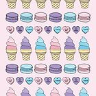 Icecream Candy Hearts by megs082