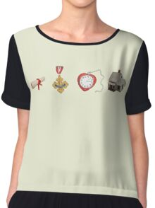 Wizard Of Oz (may contain spoilers) Chiffon Top