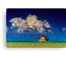 Island in paradise  Canvas Print