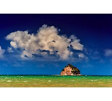 Island in paradise  Photographic Print