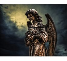 Angels among us Photographic Print