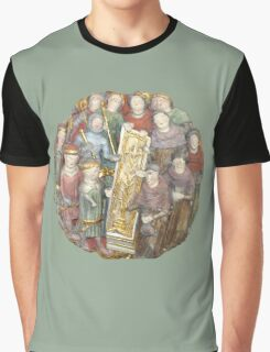 Circle of Men - Green Graphic T-Shirt