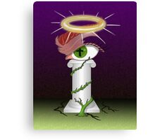 Moral Indignation Is Jealousy with a Halo Canvas Print
