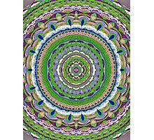 Mandalove Kaleidoscope Dotwork Photographic Print