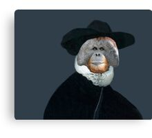 Ruffles Make the Man - Anthropomorphic Composite Canvas Print