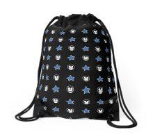 Boosh faces and stars Drawstring Bag