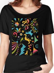 Upbeat Women's Relaxed Fit T-Shirt