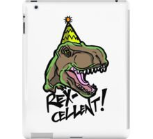 Rex-Cellent Dinosaur Theme Party for Kids and Adults Tyrannosaurus iPad Case/Skin