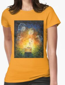 Birth of a Drum Womens Fitted T-Shirt