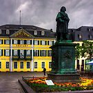 Central Post Office and Beethoven Memorial in Bonn by Tom Gomez