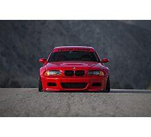 Pandem BMW M3 Photographic Print
