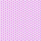 Puffy Pink Pattern by Vicki Field