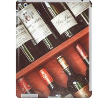 wine collection iPad Case/Skin
