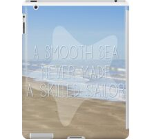 A Smooth Sea iPad Case/Skin