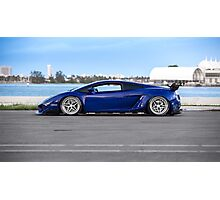 Twin Turbo Liberty Walk Lamborghini Gallardo Photographic Print