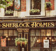 The Sherlock Holmes Restaurant Sticker