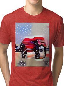 Patriotic: Republican Tri-blend T-Shirt