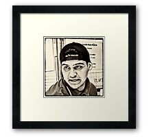 People of the City Framed Print