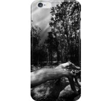 There's Something In The Woods iPhone Case/Skin