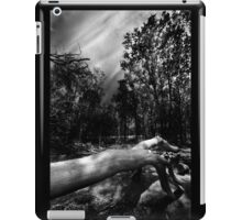 There's Something In The Woods iPad Case/Skin