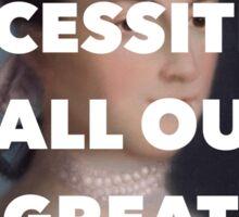 Boss Ladies: Abigail Adams Sticker