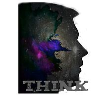 THINK Photographic Print
