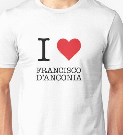 I Heart Francisco D'Anconia Unisex T-Shirt