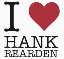 I Heart Hank Rearden Kids Tee