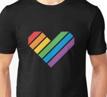 Geometric Pride Heart Unisex T-Shirt