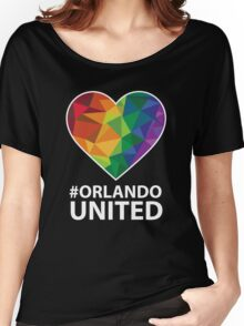 Orlando United T-Shirt - Pray For Orlando Women's Relaxed Fit T-Shirt