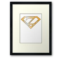 The legend of Zelda Superman Framed Print