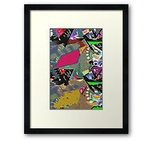 TROPICAL UTOPIA 1 Framed Print