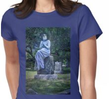 Living With The Tombstones Womens Fitted T-Shirt