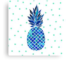 Maritime Pineapple Canvas Print