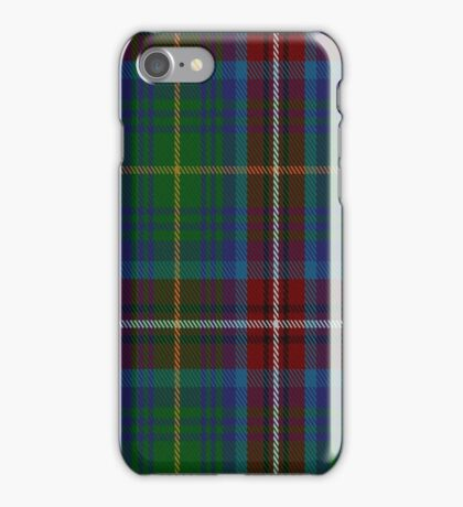 01389 Chattahoochee River District Tartan  iPhone Case/Skin