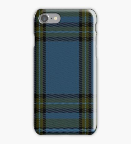 01388 Chateau Fashion Tartan  iPhone Case/Skin
