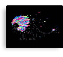 Colours in the Wind Canvas Print