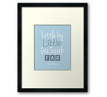 Little By Little Framed Print