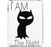 batman i am the night iPad Case/Skin