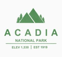 Acadia, Maine National Park by CarbonClothing