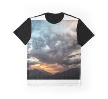 Sky With Clouds and Hills and Such Graphic T-Shirt