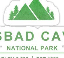Carlsbad Caverns National Park, New Mexico Sticker
