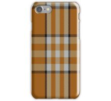 01472 Tennessee Volunteer Tartan  iPhone Case/Skin