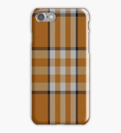 01472 Tennessee Volunteer Tartan  iPhone Case/Skin