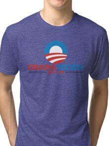 Obama-Biden 2016 Presidential Re-Election Campaign Gear Tri-blend T-Shirt