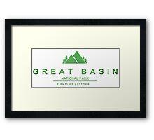 Great Basin National Park, Nevada Framed Print