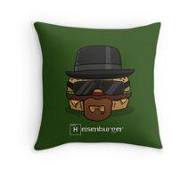 Heisenburger Throw Pillow