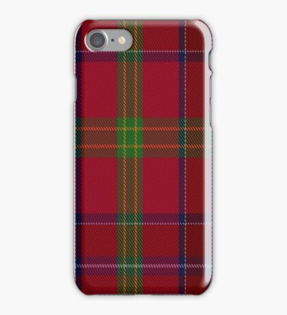 01467 Telfer Tartan  iPhone Case/Skin